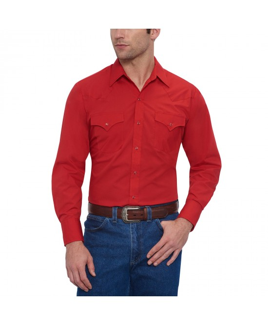 Ely Cattleman - Solid Red