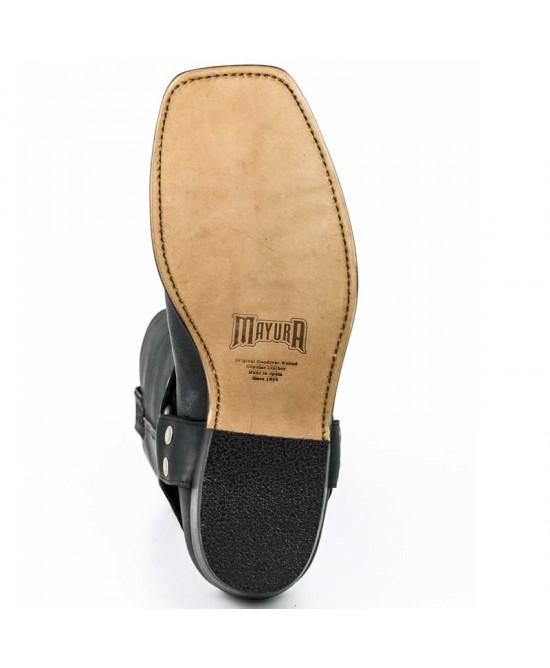 Mayura Boots 001 in Pull Grass Black