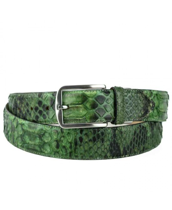 Genuine Snake Skin Belt