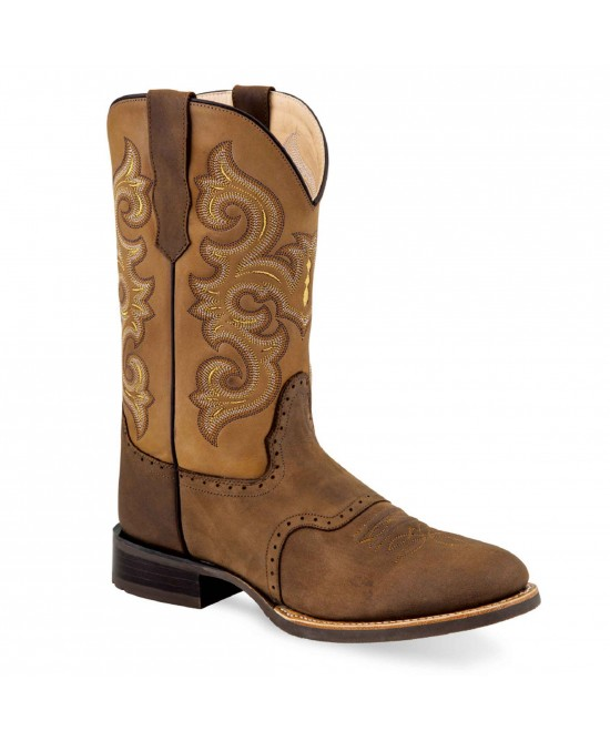 Old West - Brown and Yellow - 5705