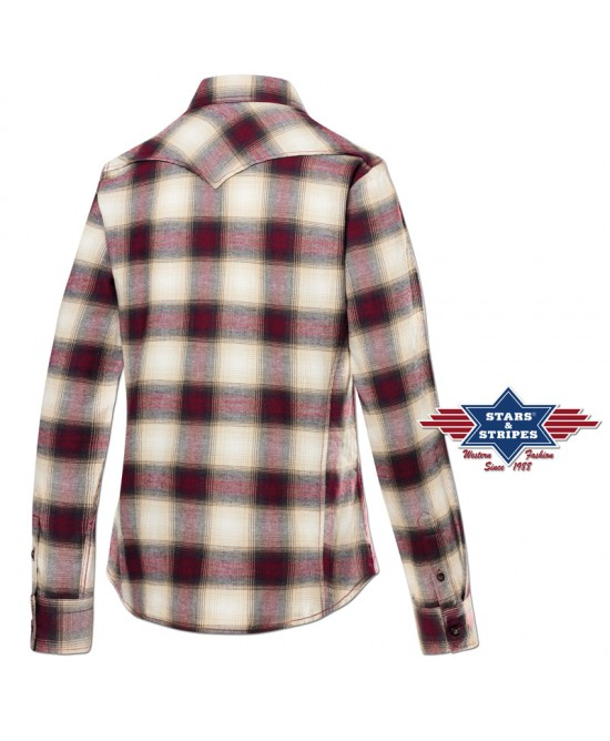 Stars & Stripes - Red and White - A01
