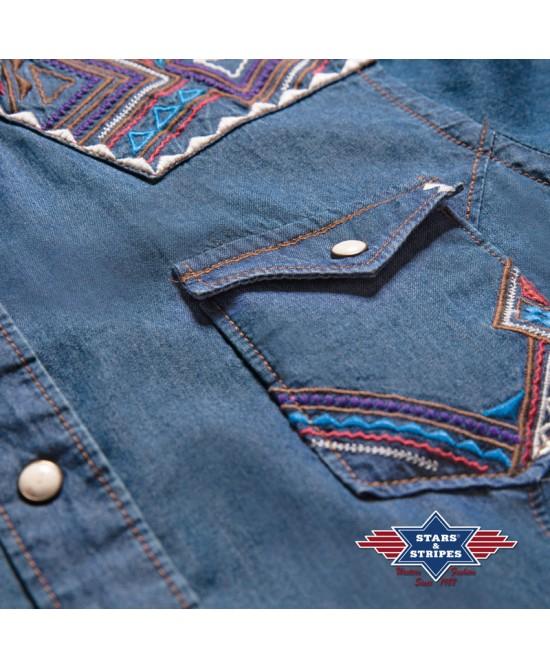 Stars & Stripes - Blue - Ava