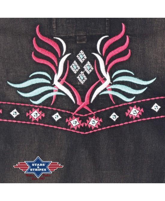Stars & Stripes - Black and Pink - Hope
