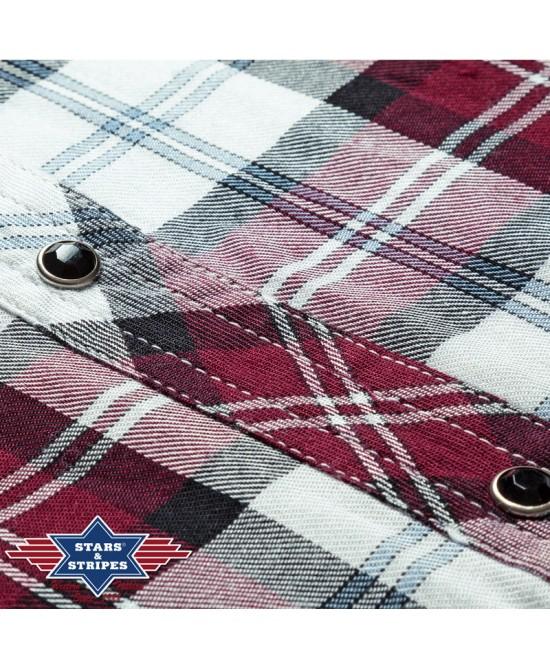 Stars & Stripes - Red and White - Pasadena